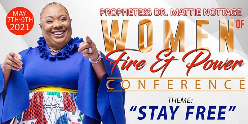 WOMEN OF FIRE AND POWER ONLINE CONFERENCE 2021